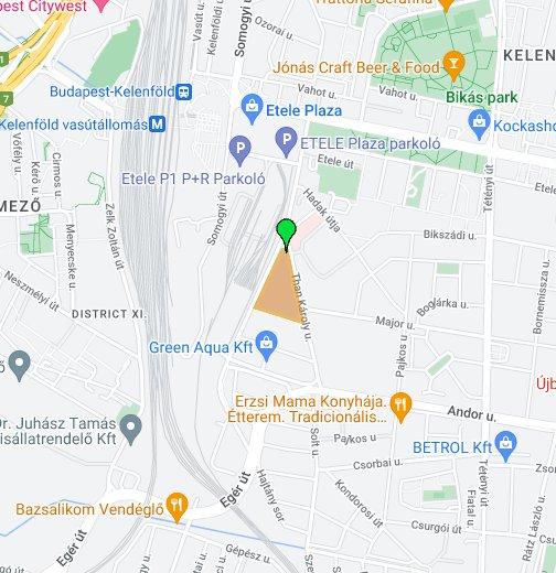 budapest andor utca térkép KTI Közlekedéstudományi Intézet Nonprofit Kft. – Google Saját térképek budapest andor utca térkép