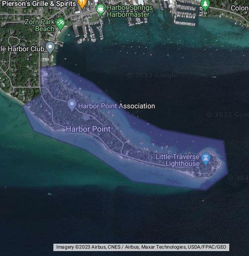 Michigan State Map Google.Harbor Point Michigan Google My Maps