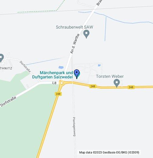 Marchenpark Google My Maps