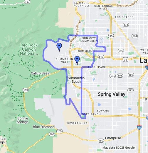 Summerlin - Google My Maps on