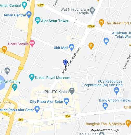 The Regency Hotel Alor Setar - Alor setar map