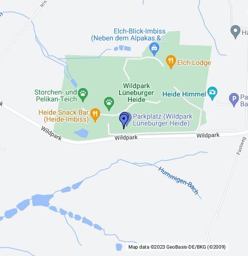 Wildpark Lüneburger Heide Karte.Wildpark Lüneburger Heide Google My Maps