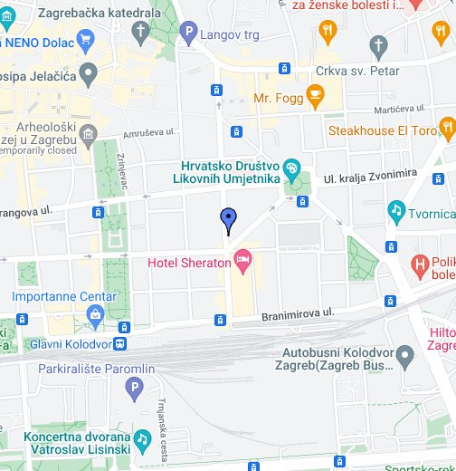 Hidroprojekt Ing D O O Google My Maps