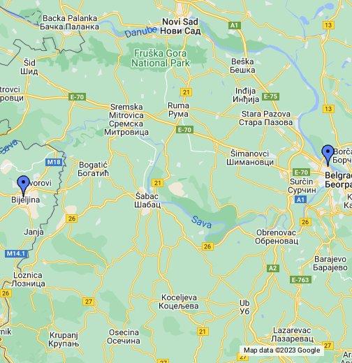 mapa srbije google maps Srbija   Google My Maps mapa srbije google maps