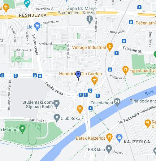 5m Zagreb Google Moje Karte