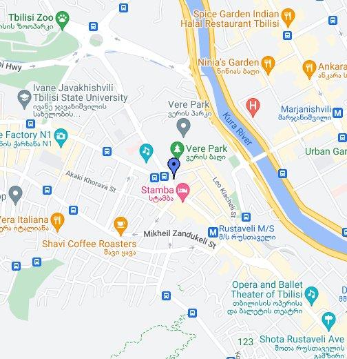 Map Of Cairo Georgia.Tbilisi Google My Maps