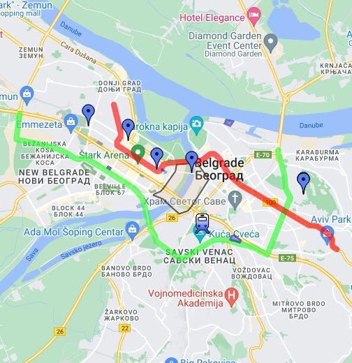 brace jerkovica beograd mapa Blocks BGD – Google My Maps brace jerkovica beograd mapa