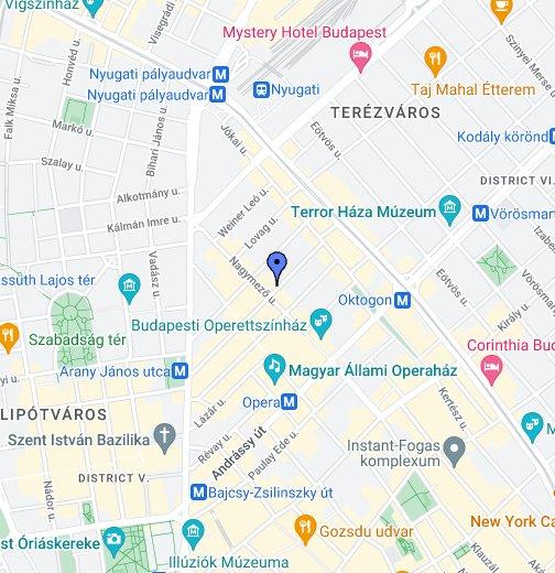 budapest alkotmány utca térkép B. City Pub – Google Saját térképek budapest alkotmány utca térkép