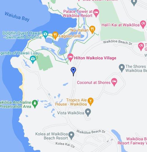Hilton Waikoloa Village Google My Maps