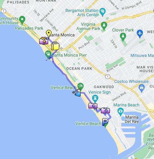 Venice Beach Ca Map Los Angeles Gang MapVenice Garage - Los angeles map venice beach