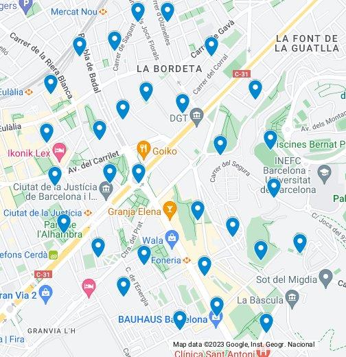 Strip Club Barcelona - Google My Maps