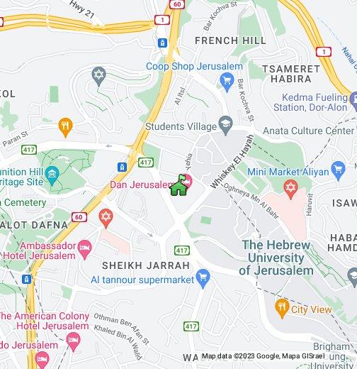 jerusalim mapa Regency Hotel Jerusalem   Google My Maps jerusalim mapa