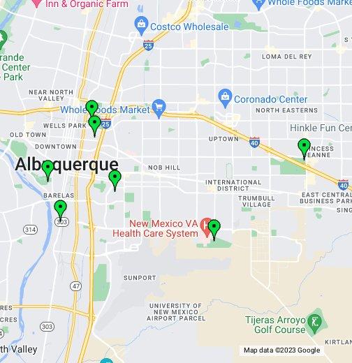 Albuquerque Softball Field Locations - Google My Maps on mapquest albuquerque, area code map albuquerque, photography albuquerque, paradise hills albuquerque, zillow albuquerque, microsoft albuquerque,