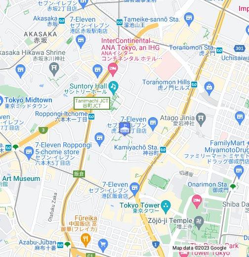 Sweden Embassy Tokyo - Google My Maps