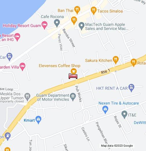 Guam Sleep Center - Google My Maps
