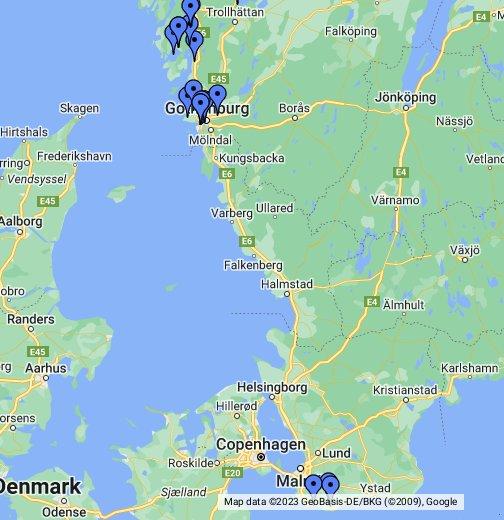 karta över fredrikshamn danmark Tjocka Släkten – Google Mina kartor karta över fredrikshamn danmark