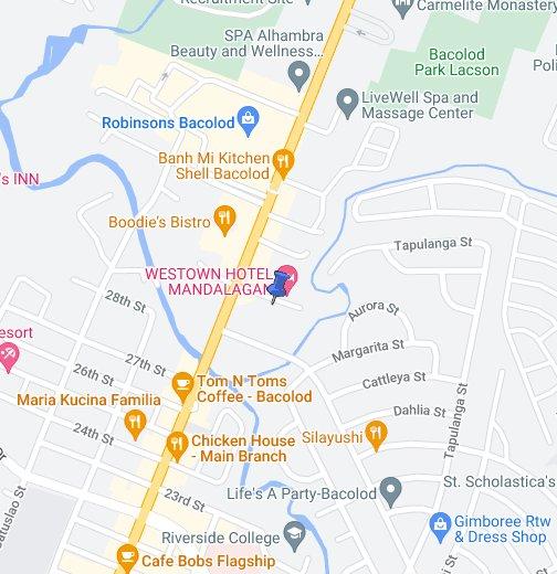 MO Westown Hotel Mandalagan Bacolod City - Bacolod map
