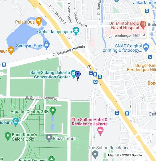 Jakarta Convention Center Google My Maps