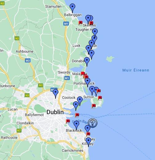 Dublin Beach Information & Guide by Sthoee.com - Google My Maps