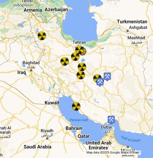 Iran's Nuclear Facilities - Google My Maps on global map of iraq, google maps jordan, landmarks of iraq, political map of iraq, google maps north korea, google maps serbia, street view of iraq, printable map of iraq, satellite view of iraq, typography of iraq, places of iraq, satellite map of iraq, home of iraq, google maps north africa, google maps egypt, google maps armenia, linguistic map of iraq, detailed map of iraq, google earth iraq,