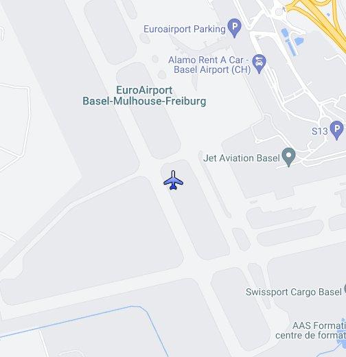 EuroAirport BaselMulhouseFreiburg - Basel mulhouse freiburg map