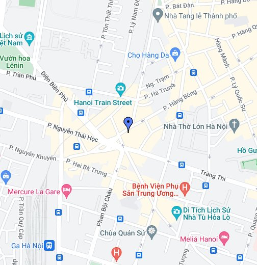 Map Ha Noi.Silk Path Hotel Hanoi Google My Maps