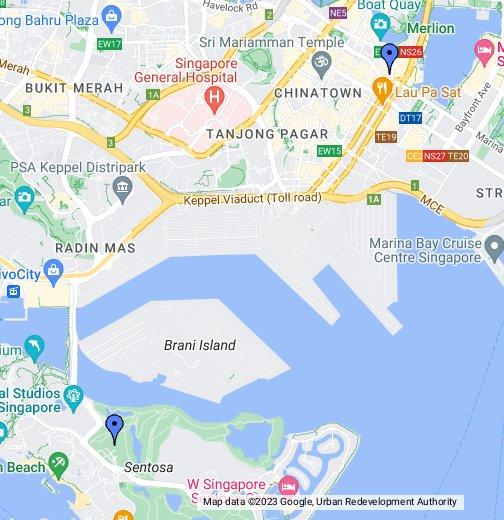Casinos In Singapore Google My Maps