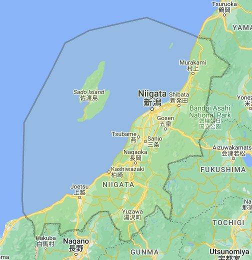 Niigata Google My Maps