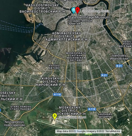 Map russia st petersburg Map of