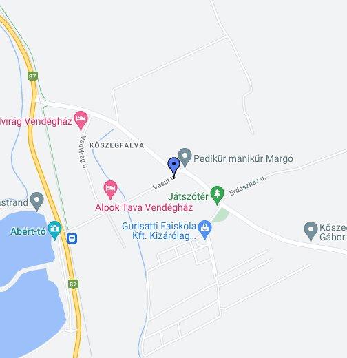kőszeg térkép google Fecskefészek vendégház – Google Saját térképek