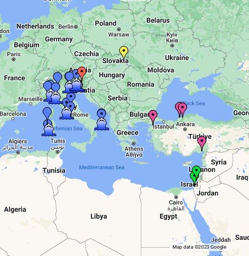 Europe Coal Power Plants Google My Maps