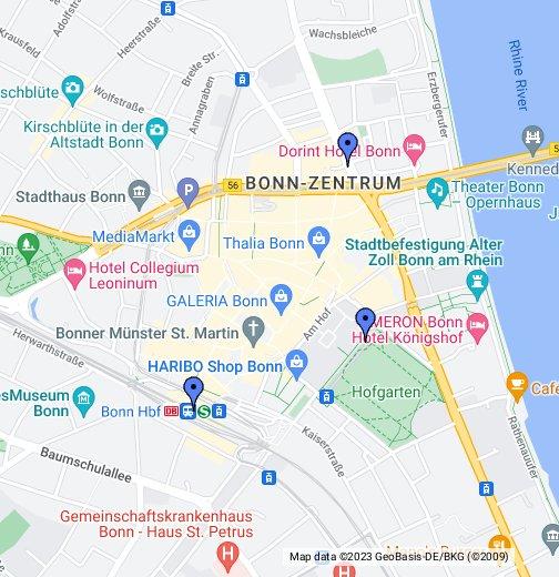 Bonn, Germany - Google My Maps