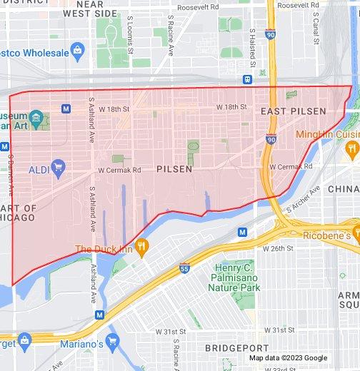 Pilsen - Google My Maps
