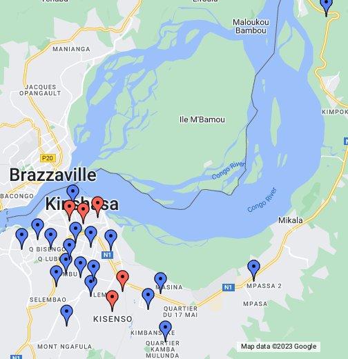Kinshasa Communes Map - Google My Maps on abidjan map, brazzaville map, dar es salaam, mogadishu map, timbuktu map, kigali map, cape town, africa map, nairobi map, cape town map, praia map, cairo map, yaounde map, congo river, freetown map, luanda map, leopoldville map, kuala lumpur map, maputo map, malabo map, congo map, addis ababa, kampala map, lagos map,