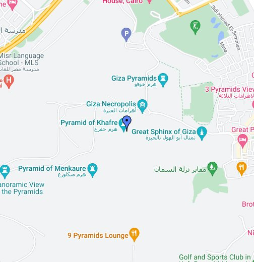Pyramids In Egypt Map.The Great Pyramids Google My Maps