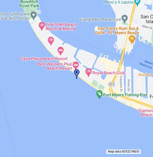 Fort Myers Beach – Google My Maps