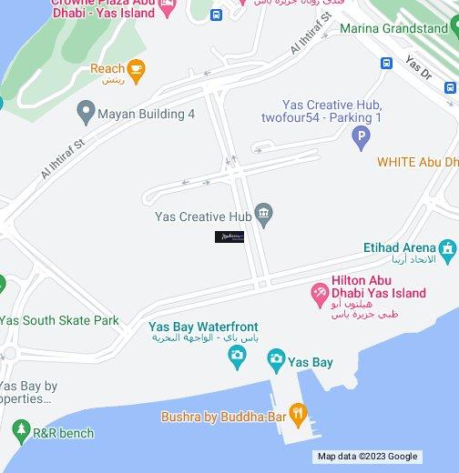 Radisson Blu Yas Island Hotel Abu Dhabi UAE - Google My Maps