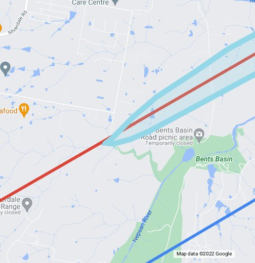 Sydney Airport Route Map Flight Paths Sydney Airport   Google My Maps
