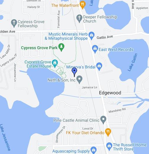 Orlando Florida Maps Orlando   Google My Maps