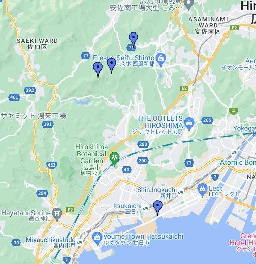 窓が山 - Google My Maps