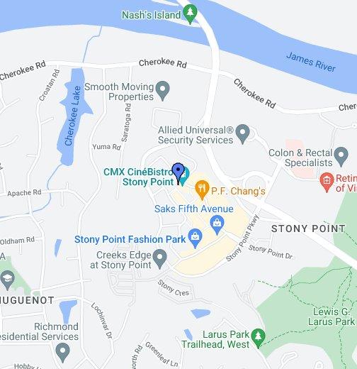 CineBistro At Stony Point Fashion Park - Google My Maps