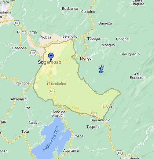 Sogamoso - Google My Maps