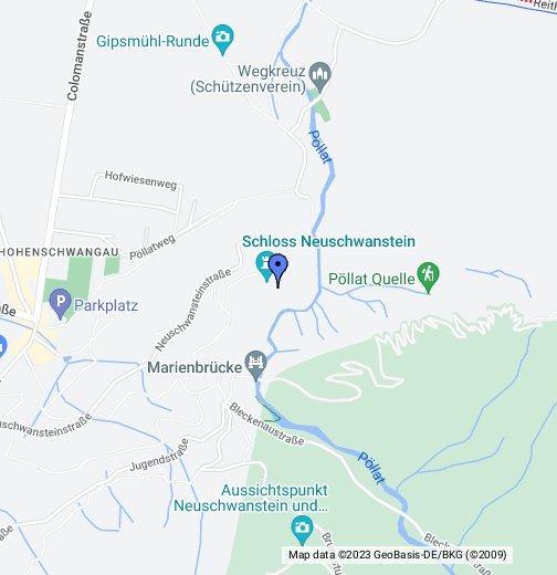 mapa nemacke stuttgart Neuschwanstein Castle   Google My Maps mapa nemacke stuttgart