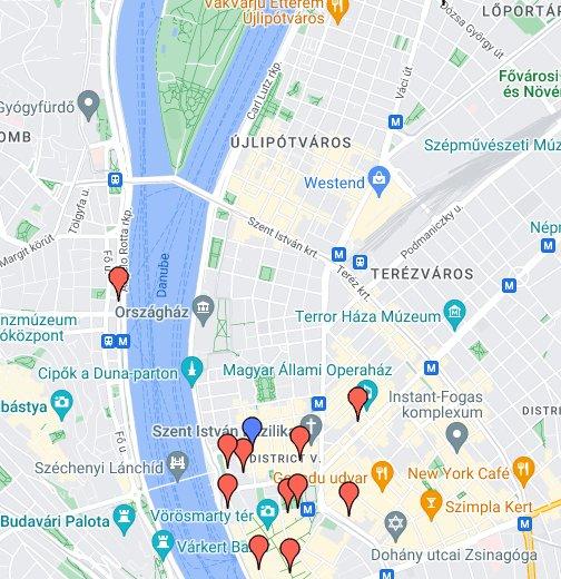 budapest csalogány utca térkép CAED 2008 – Google Saját térképek budapest csalogány utca térkép