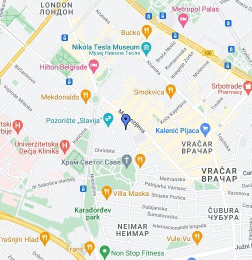 infektivna klinika beograd mapa Ginekološka ordinacija Femini   Google My Maps infektivna klinika beograd mapa