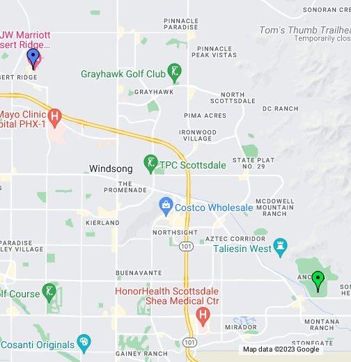 JW Marriott Phoenix Desert Ridge Resort  Spa