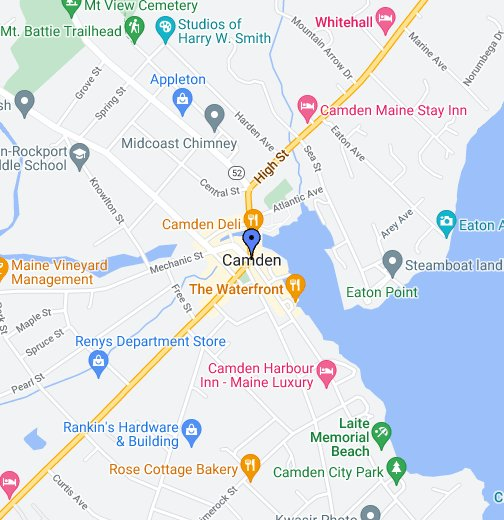 Camden Maine - Google My Maps on arizona map, usa map, texas map, nevada map, oregon map, mississippi map, vermont map, nh map, california map, florida map, massachusetts map, idaho map, illinois map, ohio map, connecticut map, hawaii map, new hampshire map, maryland map, new jersey map, louisiana map, rhode island map, indiana map, michigan map, minnesota map, bar harbor map, new mexico map, pennsylvania map, iowa map, canada map, north carolina map, washington map, wyoming map, nebraska map, montana map, missouri map,