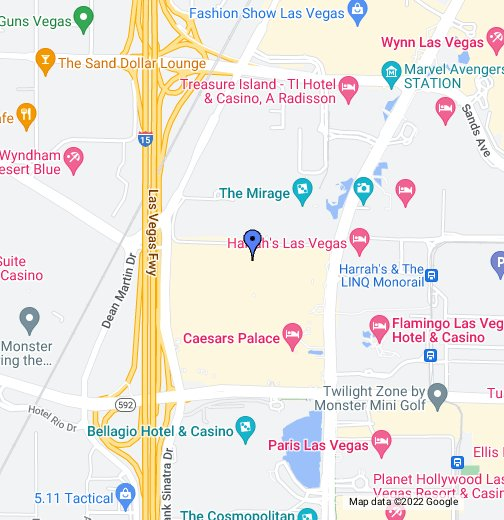 Forum Shops at Caesars Palace - Google My Maps on