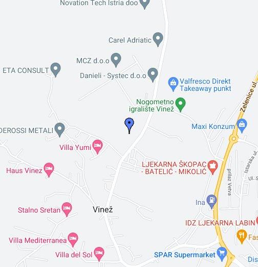 Labin Google My Maps
