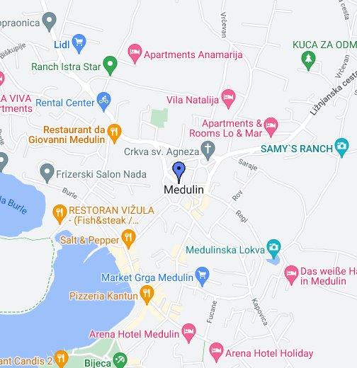 Medulin Google My Maps